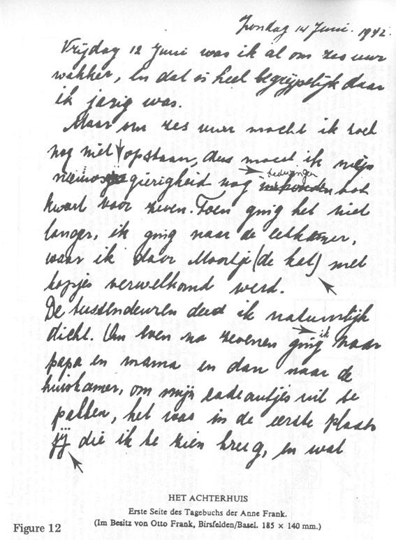 Anne Frank Diary Figures Radio Islam