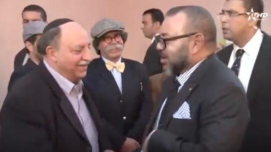 עשרות אלפי אנשי עסקים ישראלים כבר מושקעים במרוקו וההסתערות על מרוקו רק מתגברת Mohammed6-morocco-jews3