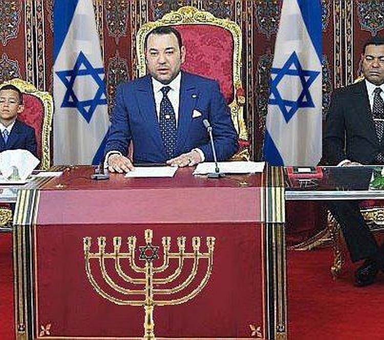 עשרות אלפי אנשי עסקים ישראלים כבר מושקעים במרוקו וההסתערות על מרוקו רק מתגברת Zio-monarchy-morocco